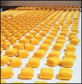 polyurethane-pulley-food-processing-machinery
