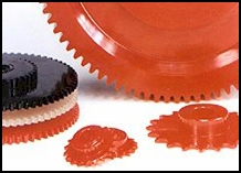 multiple polyurethane sprockets