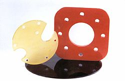 Multiple urethane parts