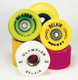 Urethane wheels for skateboards & inline skates