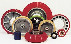 Elevator & escalator urethane wheels, tires & treads