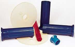 Urethane clamps & grips with vibration dampening