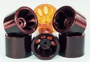Custom molded urethane wheels