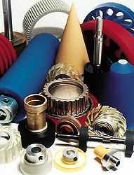 Urethane machine parts for businesses