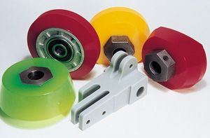 Bowling machinery urethane parts