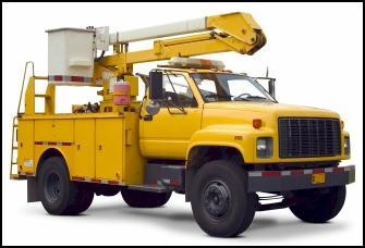 truck with hydraulic shaft seals