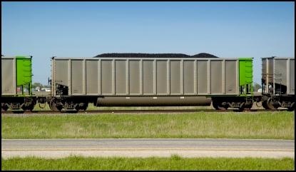 Train with polyurethane bushings