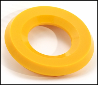Oil seal for in ground horizontal (Fracking) drilling