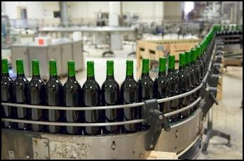 Bottle production assembly line