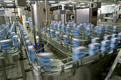 High speed assembly line
