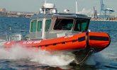 USCG defender boat